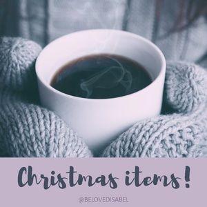 Christmas items!